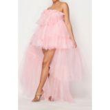 KANTA DRESS – IN YELLOW & PINK