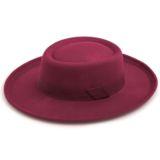 URVI HAT – IN BURGUNDY