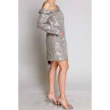 AMBA DRESS – IN GRAY