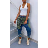 SABINA BAGGY JEANS  – IN CAMOUFLAGE