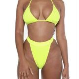 AMINA 3/PIECE – IN NEON YELLOW