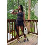 THILI DRESS – IN BLACK, LAVENDER & NUDE